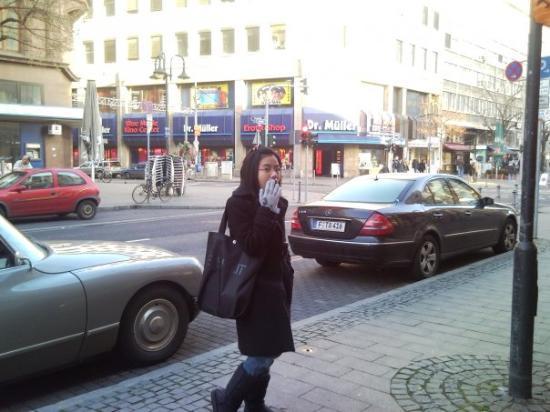 Frankfurt Am Main Red Light District Day Time