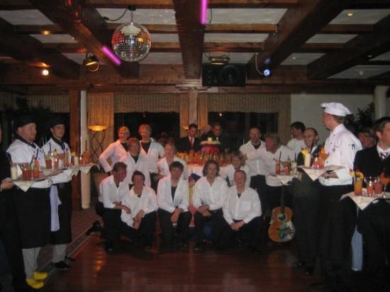 Robinson Club Arosa: ja das sind mal alles showtalente - beatles