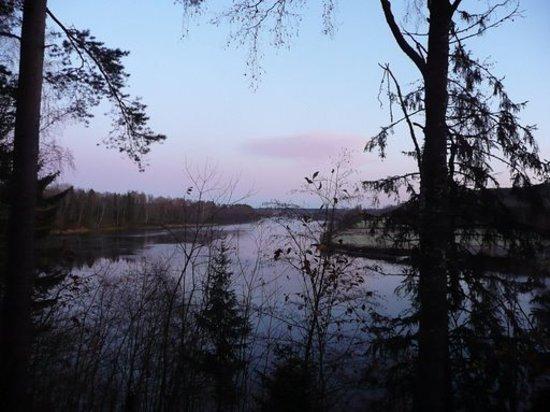 Östersund, Zweden: un petit matin...