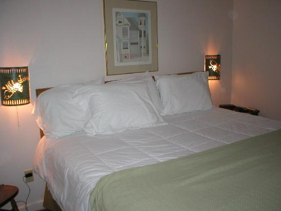 Traverse Bay Inn: Lovely Comfy Bed