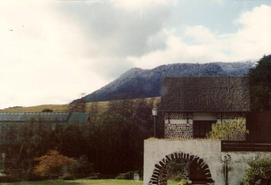 Vista parcial Hotel Termas de Puyehue