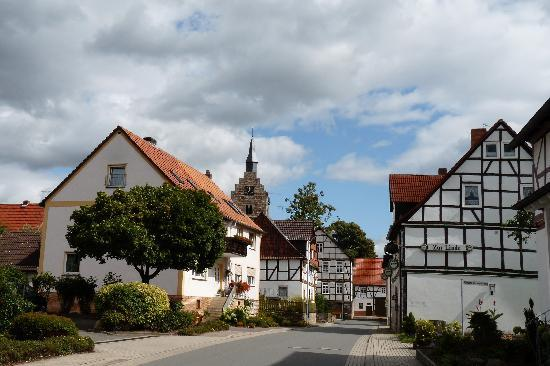 Niederelsungen, Germany: village view