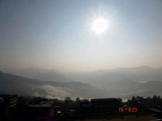 Vally of Kanchonjongha....Taken from Kalimpong.