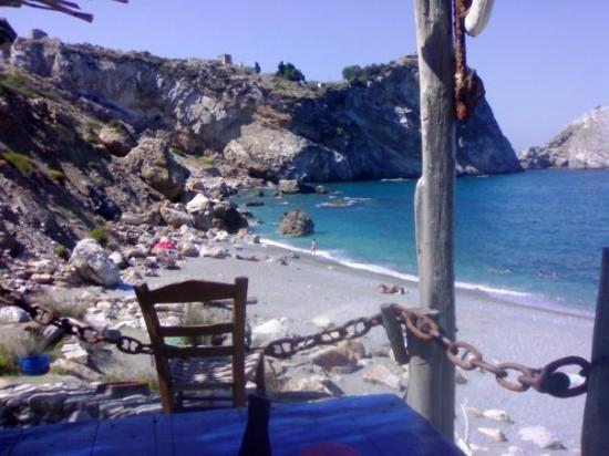 Skiathos Town, กรีซ: SPIAGGIA DI KASTRO...SKYATHOS...GRECIA