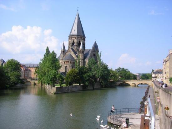 Le Temple Protestant - Picture Of Metz  Moselle