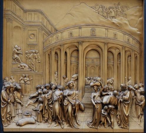 Baptistery of San Giovanni (Battistero): The Joseph panel of Ghiberti\u0027s Gates of Paradise & The Joseph panel of Ghiberti\u0027s Gates of Paradise the Baptistry ... Pezcame.Com