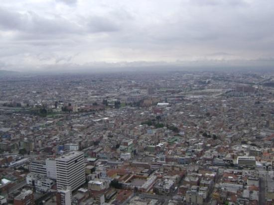 La Macarena: Muestra aèrea de la ciudad.