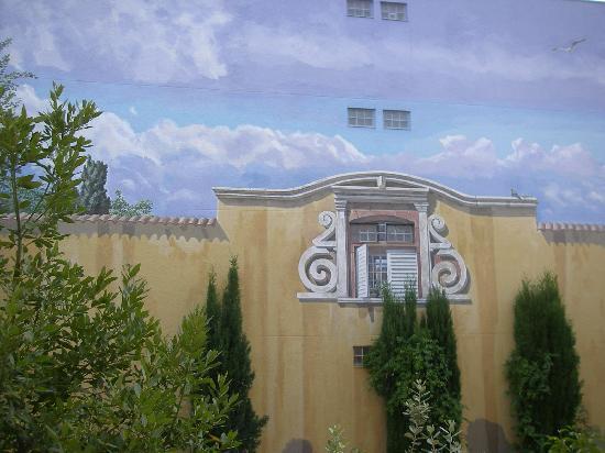 Hotel du Parc: La vista - Il trompe l'oeil