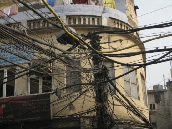 typical wiring in india picture of new delhi national capital rh tripadvisor com India Electricity India Phone Lines