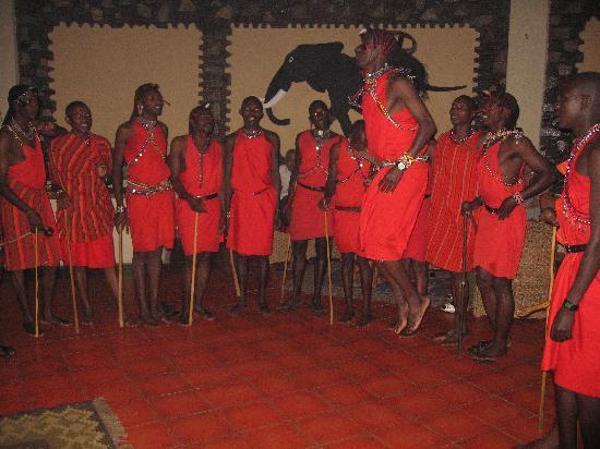 Mara Sopa Lodge: Dans