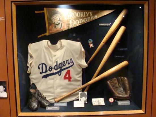 Duke Snider s jersey and other Brooklyn Dodger memorabilia ... aaf3df5e0de