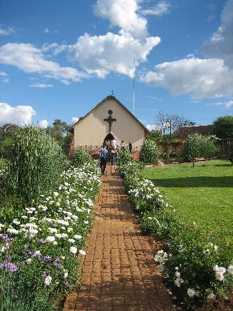 Magaliesburg, Sydafrika: the chapel