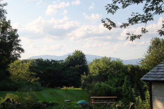 Barclay Heights Bed & Breakfast at Smythe House: View of Moutains from back of the Inn