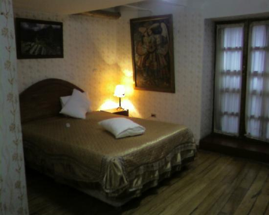 Hotel Wiracocha : Nuestra habitación