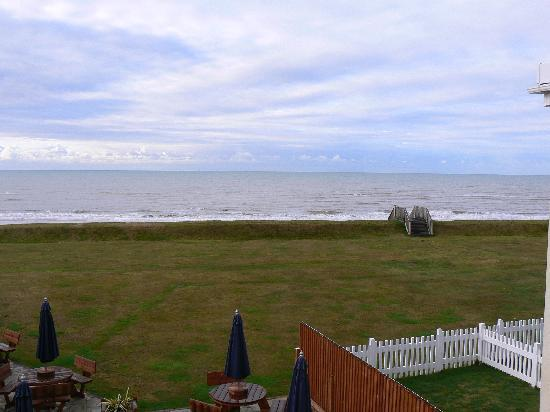 The Cooden Beach Hotel: View from bedroom