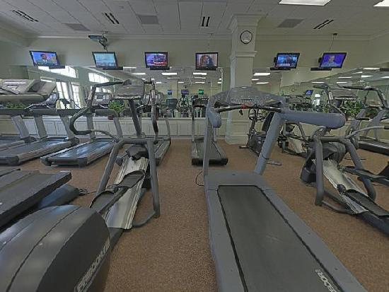 Carriage House Hotel: Fitness Cardio room