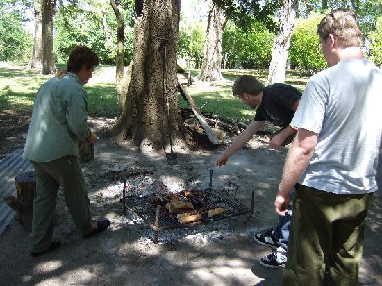 Santa Maura: Barbecue