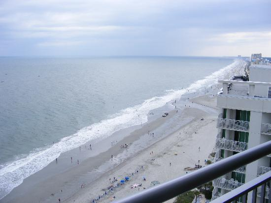 Oceans One Resort: from the balcony, looking right