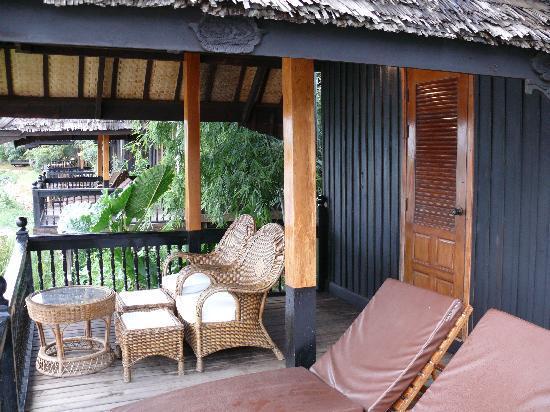 Inle Princess Resort : Terrace