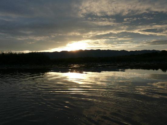 Inle Princess Resort : Sunset