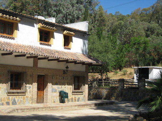 Gaucin, Spain: View from the outside of the hotel