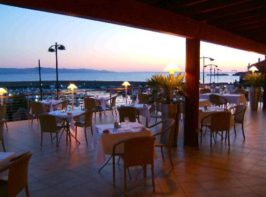 Hotel Corallo : Dinner on the terrace