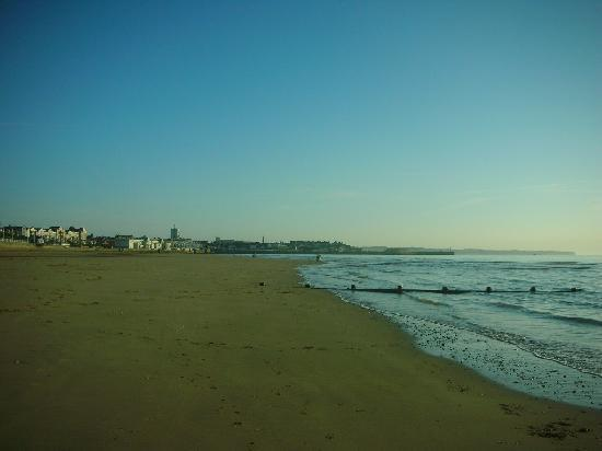 Bridlington, UK: South Beach walk