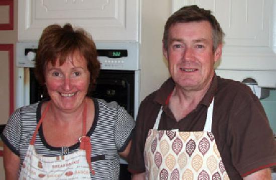 Brownes Bed & Breakfast Dingle: Camilla & John Browne -- great hosts!