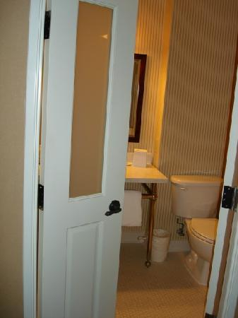 Bathroom Doors Entrance Picture Of Sheraton Rockville