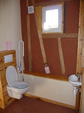 Chambres d'hotes en Baie de Somme: les toilettes