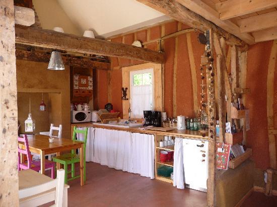 Chambres d'hotes en Baie de Somme: la salle du petit déjeuner