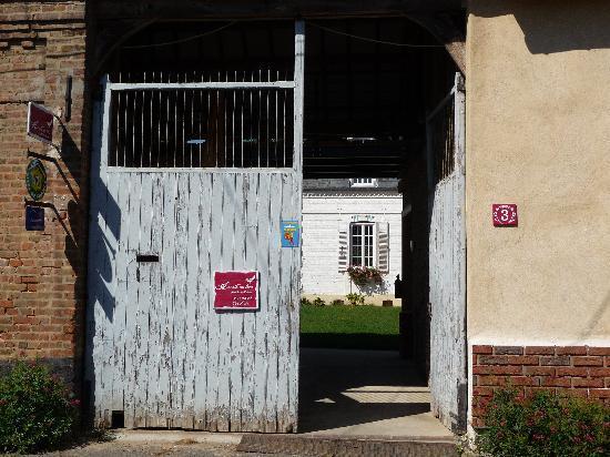 Chambres d'hotes en Baie de Somme : entrée depuis la rue