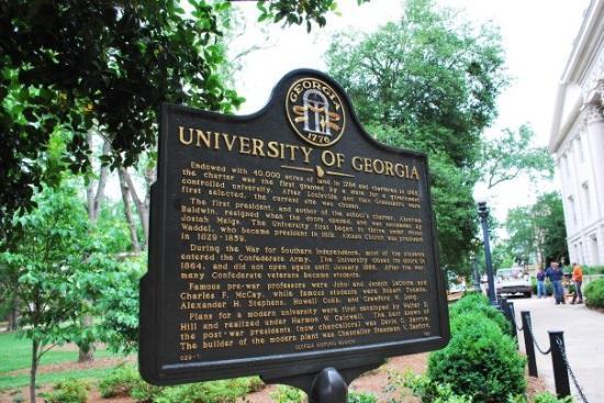 University Of Georgia Athens >> 1 Tee Uga Club Picture Of University Of Georgia Golf Course