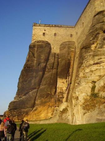 Koenigstein, Germany: Visit of the Königstein Fortress (close to Dresden, 2007)