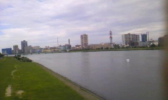 新潟市 新潟県 日本信濃川river shinano the longest river in japan