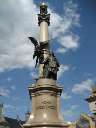 Adam Mickiewicz Monument Photo