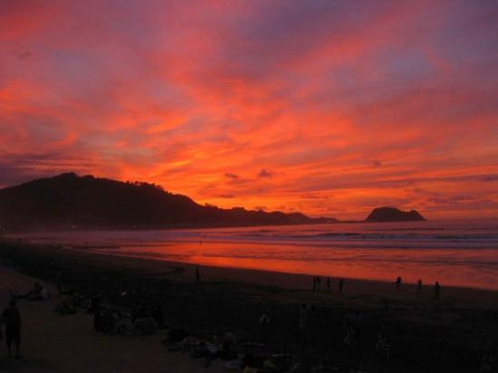 Sunset In Zarautz