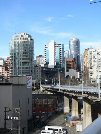 Granville Street Mall/Granville Street: view from the bridge