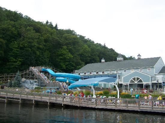 Lake Compounce: water park at capacity