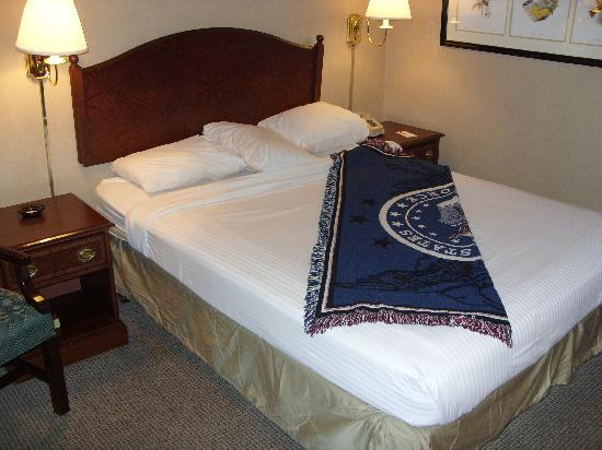 Econo Lodge Inn & Suites: Bed