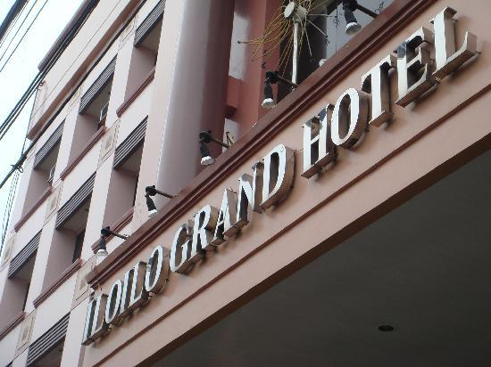 Iloilo Grand Hotel メイン エントランス