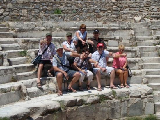 Efes Antik Kenti Tiyatrosu ภาพถ่าย