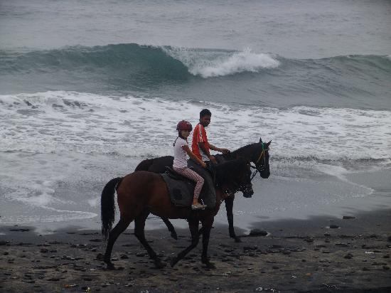 Tabanan, Indonesien: along the beach