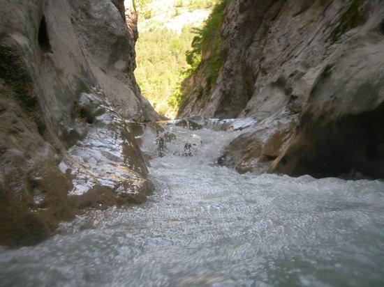 Bureau des Guides de Canyon : Canyon Ayglun