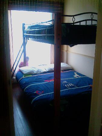 Quality Inn : Bunkbeds in kids' room