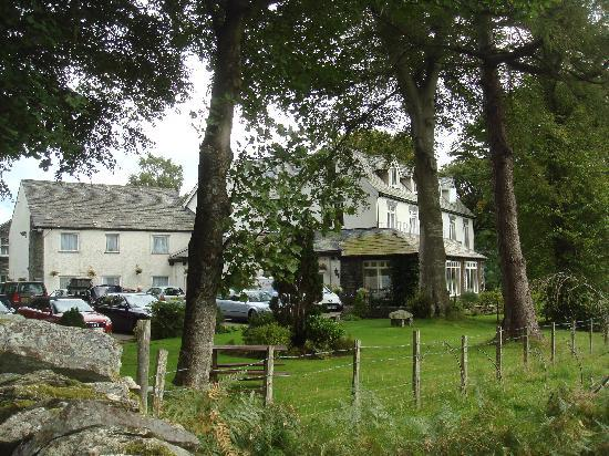 The Borrowdale Gates Hotel: The garden