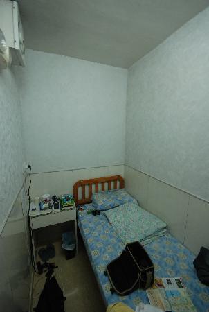 Hong Kong Budget Hostel: Einbettzimmer