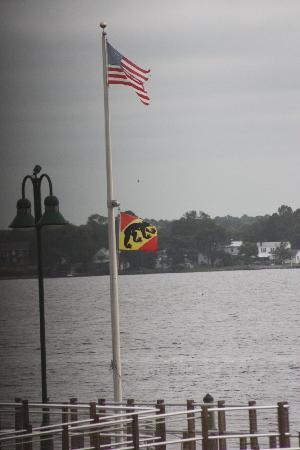 Courtyard New Bern: Dock View from Roon