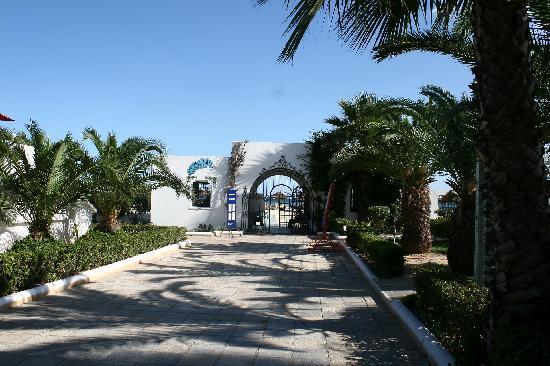 Hotel Movie Gate: camino a la playa