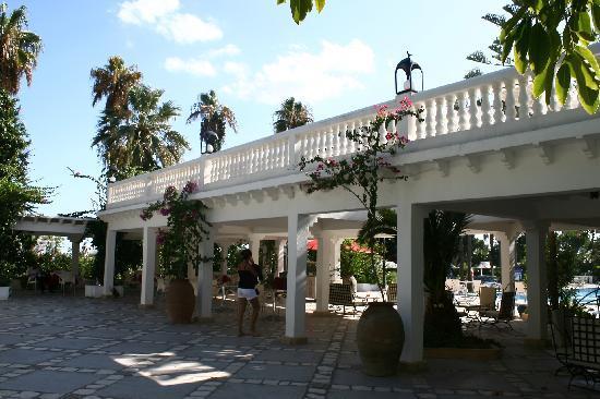 Hotel Movie Gate: terrazas